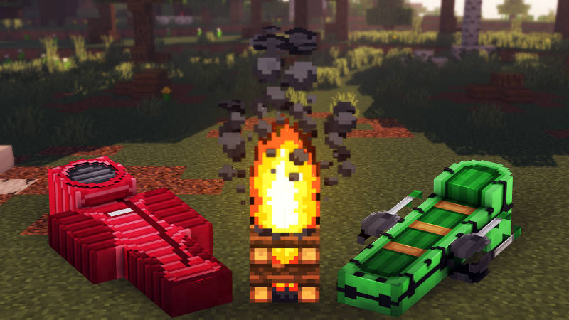 Camping Gear on the Minecraft Marketplace by 57Digital