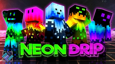Neon Drip on the Minecraft Marketplace by PixelOneUp