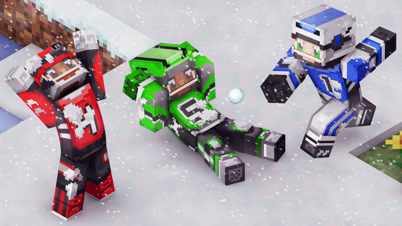Snowball Pros on the Minecraft Marketplace by 57Digital
