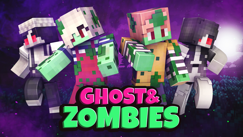 Ghost and Zombies on the Minecraft Marketplace by Blockception