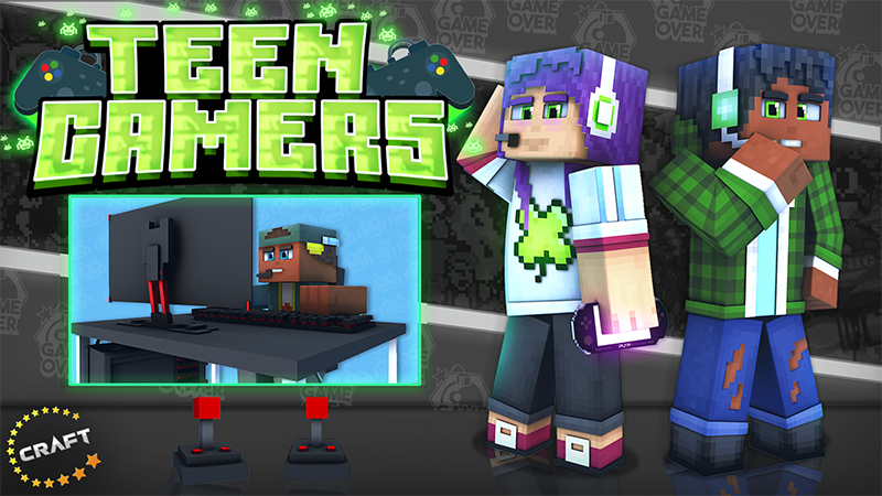 Teen Gamers on the Minecraft Marketplace by The Craft Stars