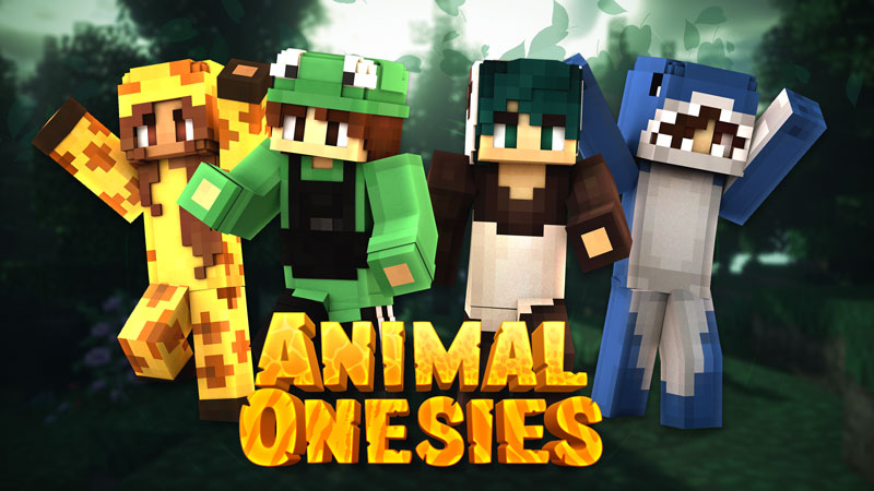 Animal Onesies on the Minecraft Marketplace by Impulse