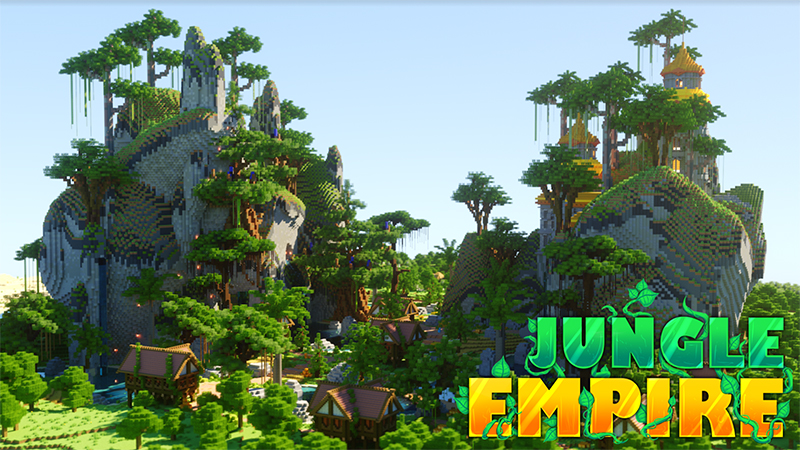 Jungle Empire on the Minecraft Marketplace by Diluvian