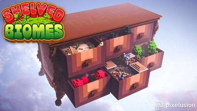 Shelved Biomes on the Minecraft Marketplace by Pixelusion