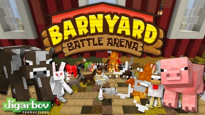Barnyard Battle Arena on the Minecraft Marketplace by Jigarbov Productions