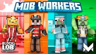 Mob Workers on the Minecraft Marketplace by BLOCKLAB Studios
