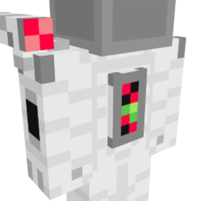 Spacesuit on the Minecraft Marketplace by King Cube