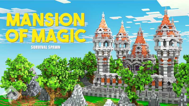 Mansion of Magic on the Minecraft Marketplace by RareLoot