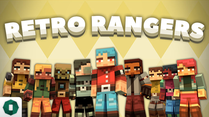Retro Rangers on the Minecraft Marketplace by Octovon