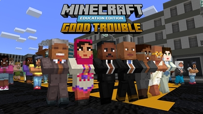 Lessons in Good Trouble on the Minecraft Marketplace by Minecraft