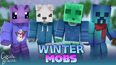 Winter Mobs HD Skin Pack on the Minecraft Marketplace by CupcakeBrianna