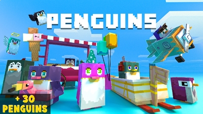 Penguins Skyblock on the Minecraft Marketplace by Mine-North