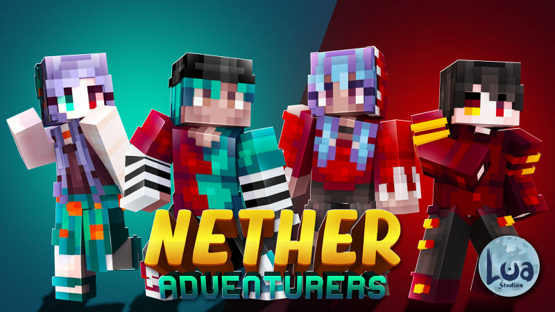Nether Adventurers  on the Minecraft Marketplace by BLOCKLAB Studios