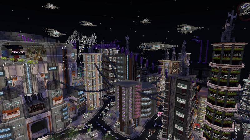 Cyberpunk Parkour by BLOCKLAB Studios