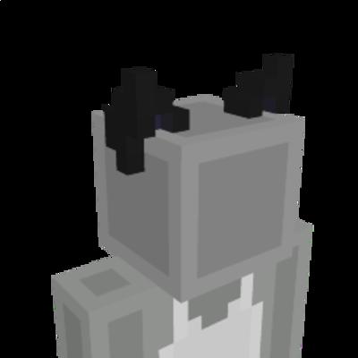 Dark Kitten Anime Ears on the Minecraft Marketplace by Tetrascape