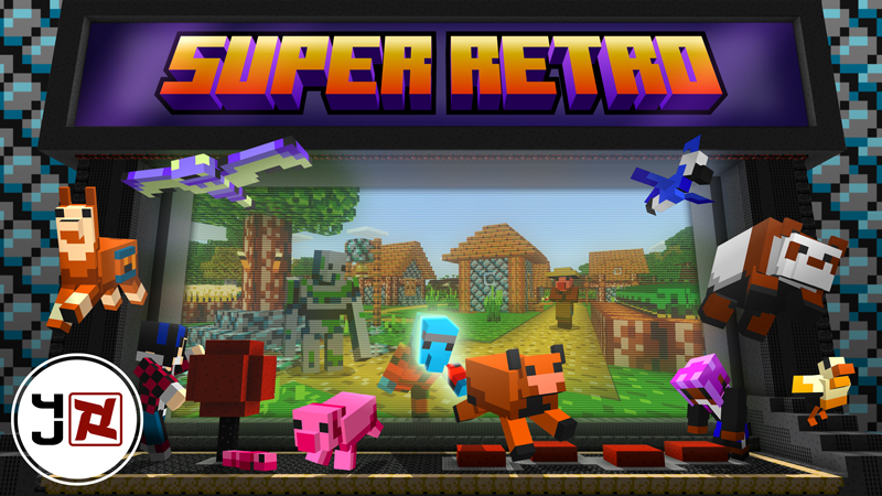 Super Retro on the Minecraft Marketplace by 4J Studios