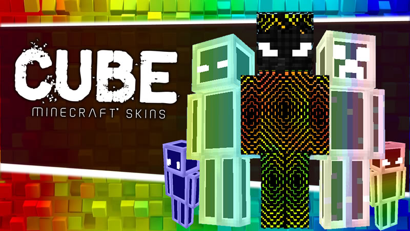 Free Form Cube Minecraft Skins on the Minecraft Marketplace by Canada Web Developer