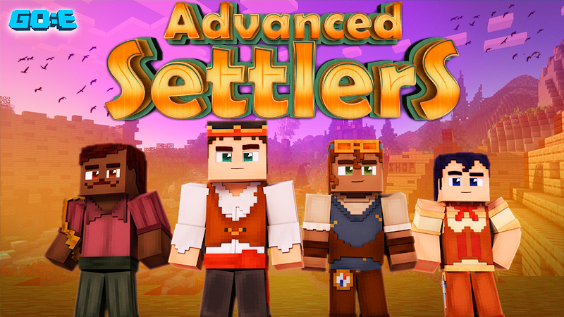Advanced Settlers on the Minecraft Marketplace by GoE-Craft