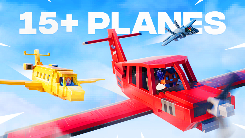 Planes on the Minecraft Marketplace by Spark Squared