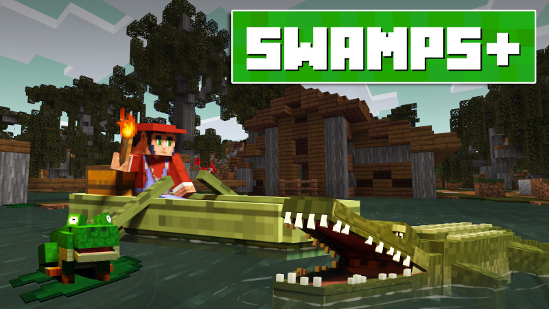 Swamps on the Minecraft Marketplace by Lifeboat