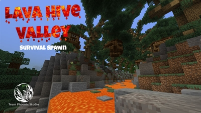 Lava Hive Valley on the Minecraft Marketplace by Team Phoenix Studio