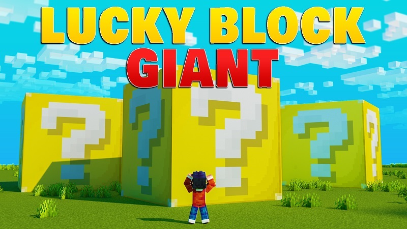 Lucky Block Giant on the Minecraft Marketplace by BBB Studios