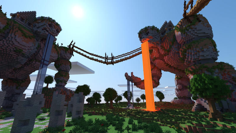 Titan Town on the Minecraft Marketplace by BLOCKLAB Studios
