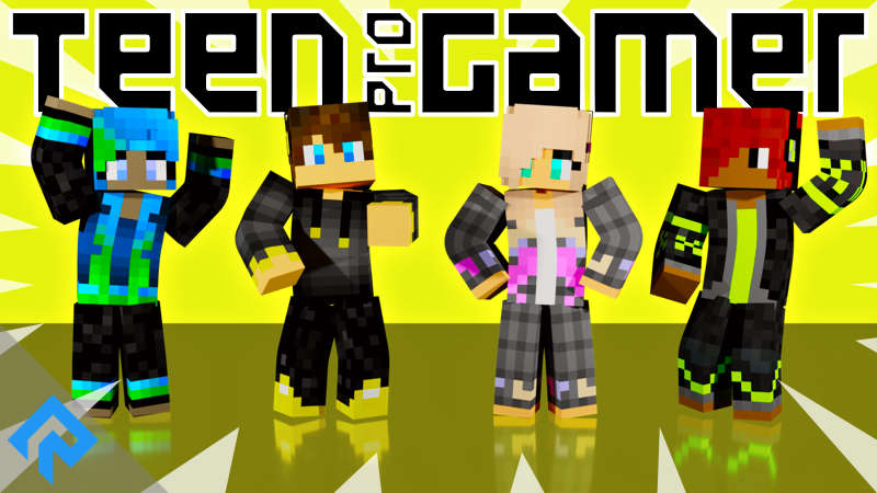 Teen ProGamer on the Minecraft Marketplace by RareLoot