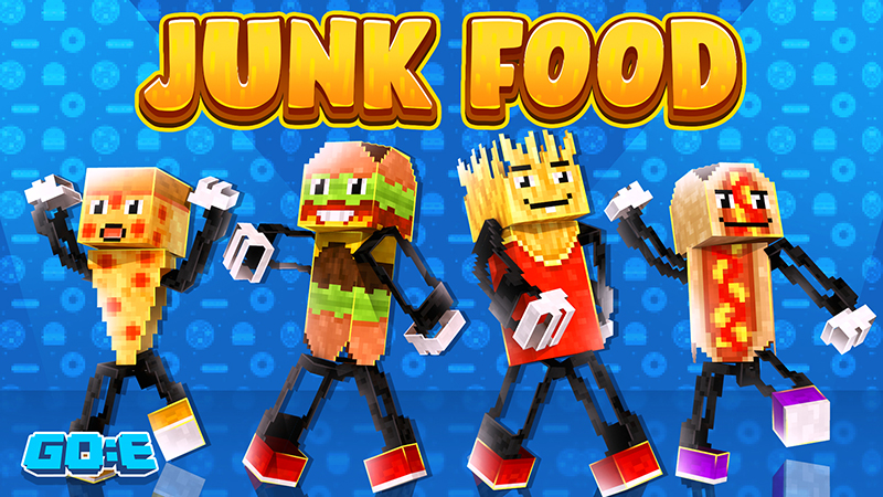 Junk Food on the Minecraft Marketplace by GoE-Craft