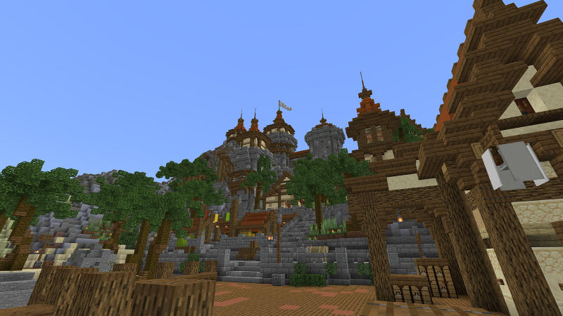Blocky Shores on the Minecraft Marketplace by BLOCKLAB Studios