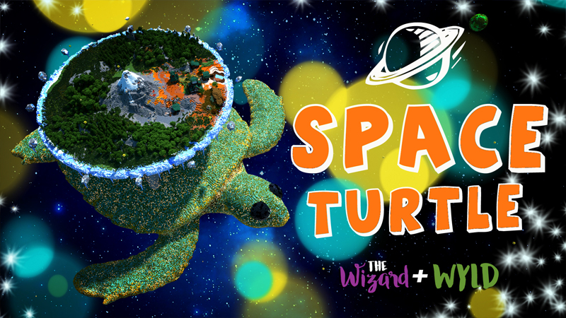 Space Turtle on the Minecraft Marketplace by The Wizard and Wyld