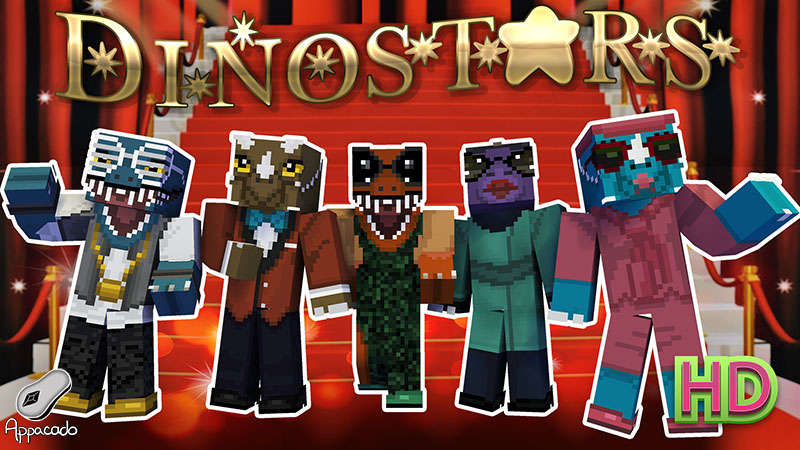 Dinostars HD on the Minecraft Marketplace by Appacado