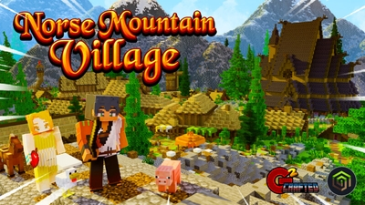 Norse Mountain Village on the Minecraft Marketplace by G2Crafted