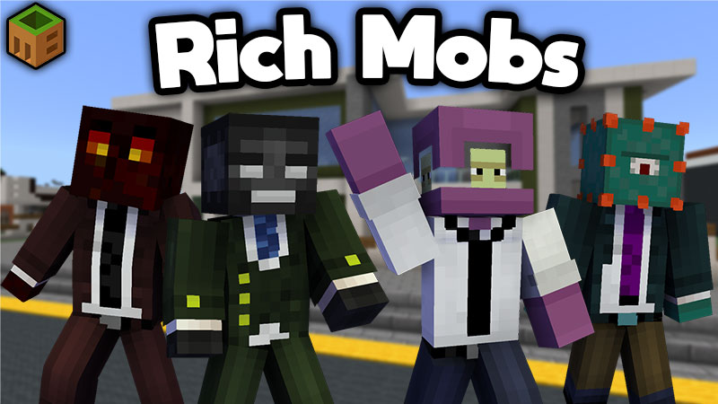 Rich Mobs on the Minecraft Marketplace by MobBlocks