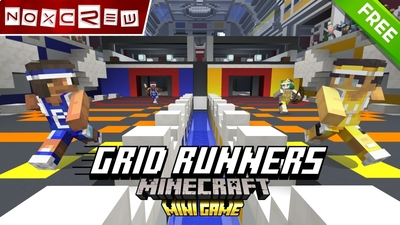 Grid Runners on the Minecraft Marketplace by Noxcrew