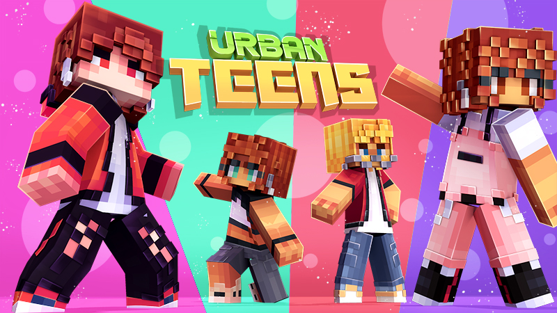 Urban Teens on the Minecraft Marketplace by Norvale