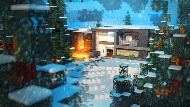 Millionaire Winter Vacation on the Minecraft Marketplace by 4KS Studios
