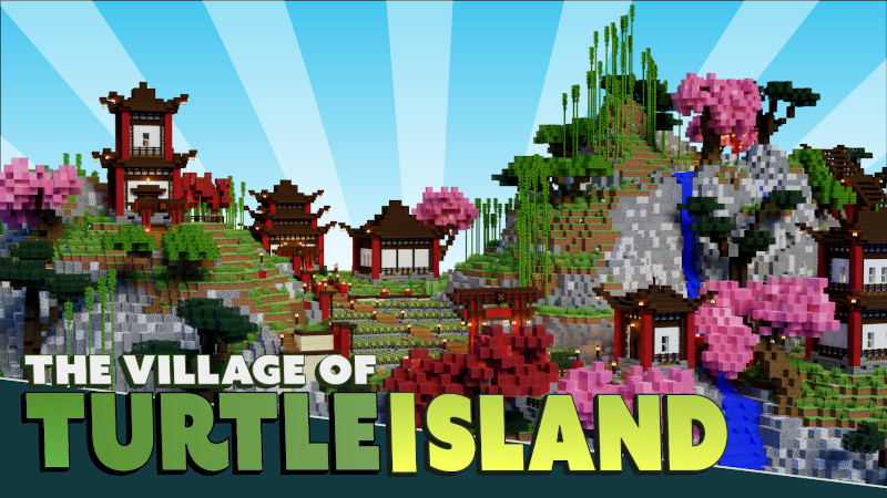 The Village of Turtle Island on the Minecraft Marketplace by BTWN Creations
