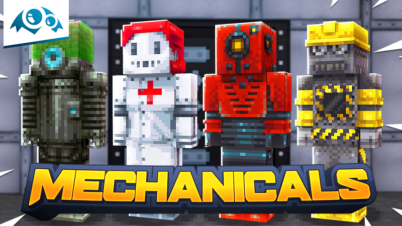 Mechanicals on the Minecraft Marketplace by Monster Egg Studios