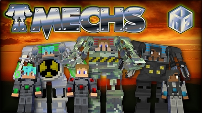 Mechs  on the Minecraft Marketplace by MobBlocks