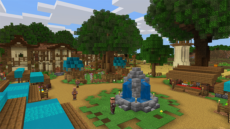 Miners Village by Diluvian