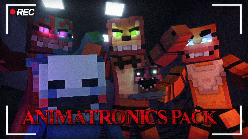 ANIMATRONICS PACK on the Minecraft Marketplace by Kubo Studios