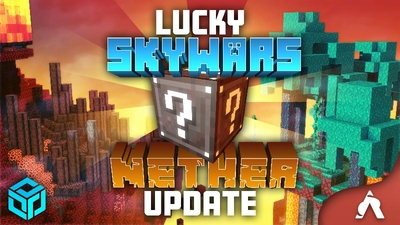 Lucky Skywars Nether Update on the Minecraft Marketplace by Atheris Games