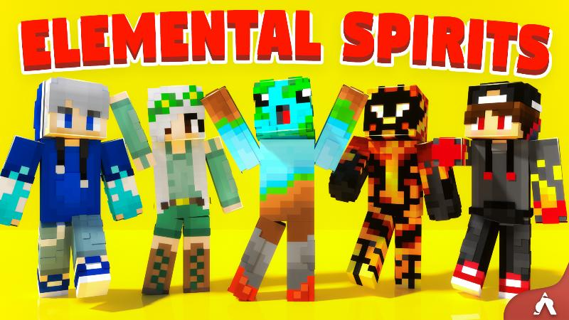 Elemental Spirits on the Minecraft Marketplace by Atheris Games