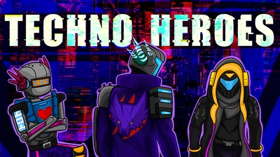 Techno Heroes on the Minecraft Marketplace by BBB Studios