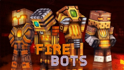 Fire Bots on the Minecraft Marketplace by 57Digital