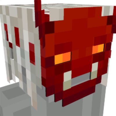 Demon Mask on the Minecraft Marketplace by GoE-Craft