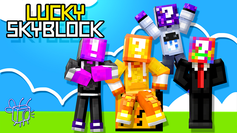 Lucky SkyBlock on the Minecraft Marketplace by Blu Shutter Bug