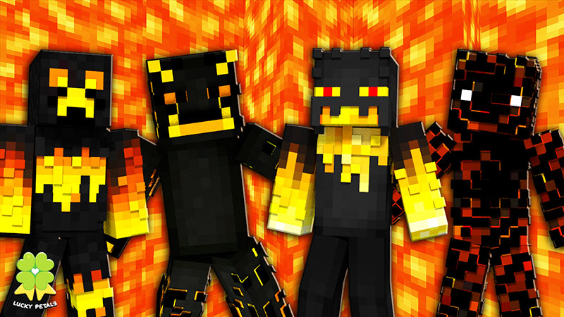 Nether Creatures on the Minecraft Marketplace by The Lucky Petals