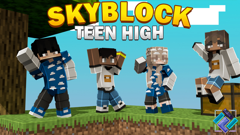 Skyblock Teen High on the Minecraft Marketplace by PixelOneUp